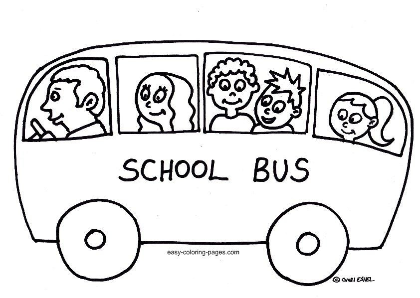 842x598 Wheels On The Bus Coloring Page Truck New Ideas