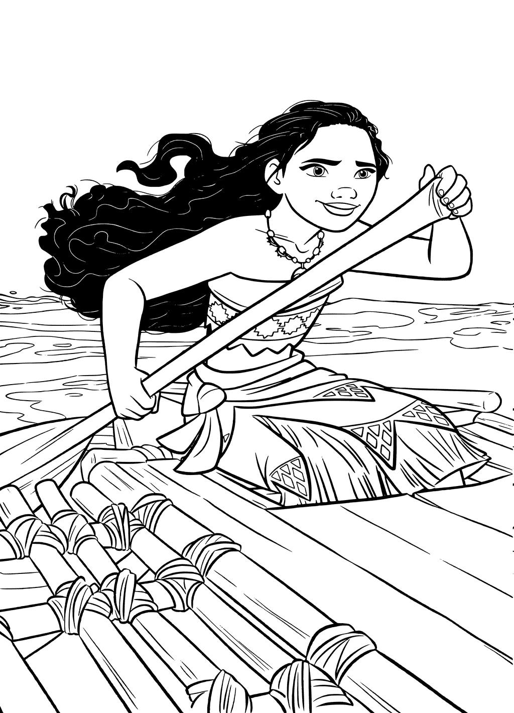 1024x1420 Top Moana Coloring Pages Free Printables