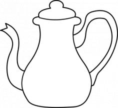 236x216 Tea Cup And Saucer Drawing Sketch Coloring Page Crafty Stuff
