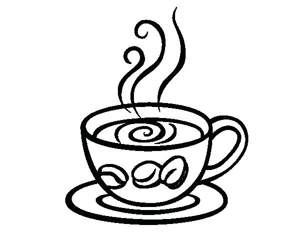 600x470 Tea Cup Coloring Page Cup Coloring Pages Free Printable Tea Cup
