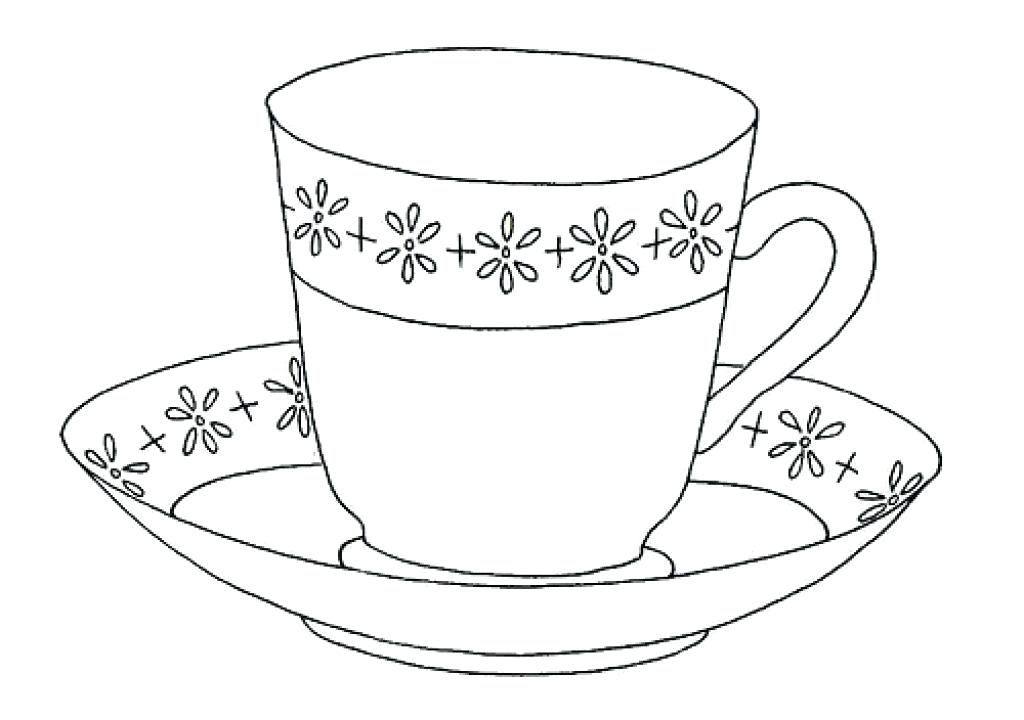 1024x720 Tea Cup Coloring Page Twisty Noodle Pink Cup Coloring Page Tea Cup