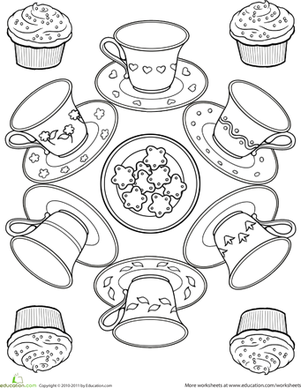 301x388 Teacup Worksheet