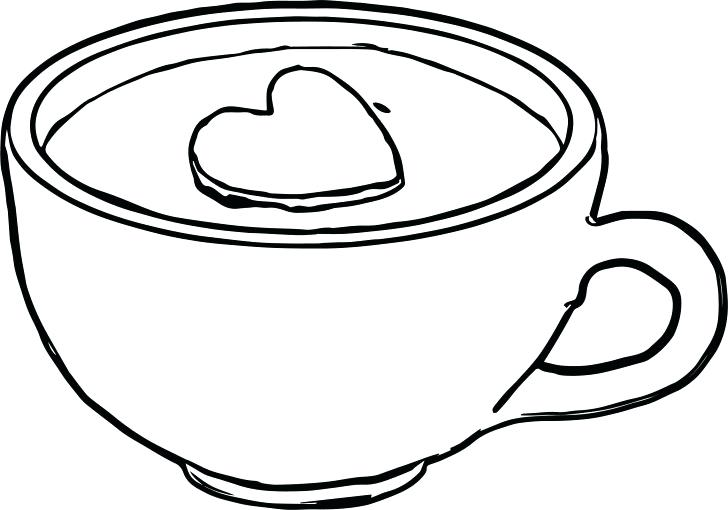 728x510 Cup Coloring Page Mug Coloring Page Tea Cup Colouring Pages