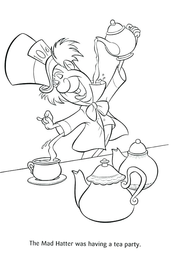 600x886 Fancy Nancy Coloring Pages Fancy Coloring Pages Tea Party Coloring