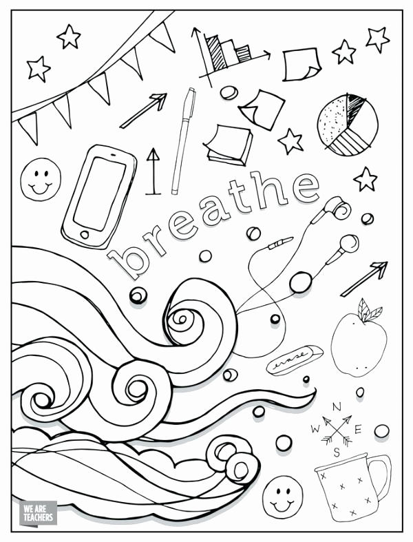 Teacher Appreciation Coloring Pages Printable