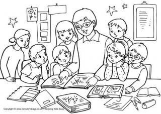 Teacher Appreciation Coloring Pages Printable At Getdrawingscom