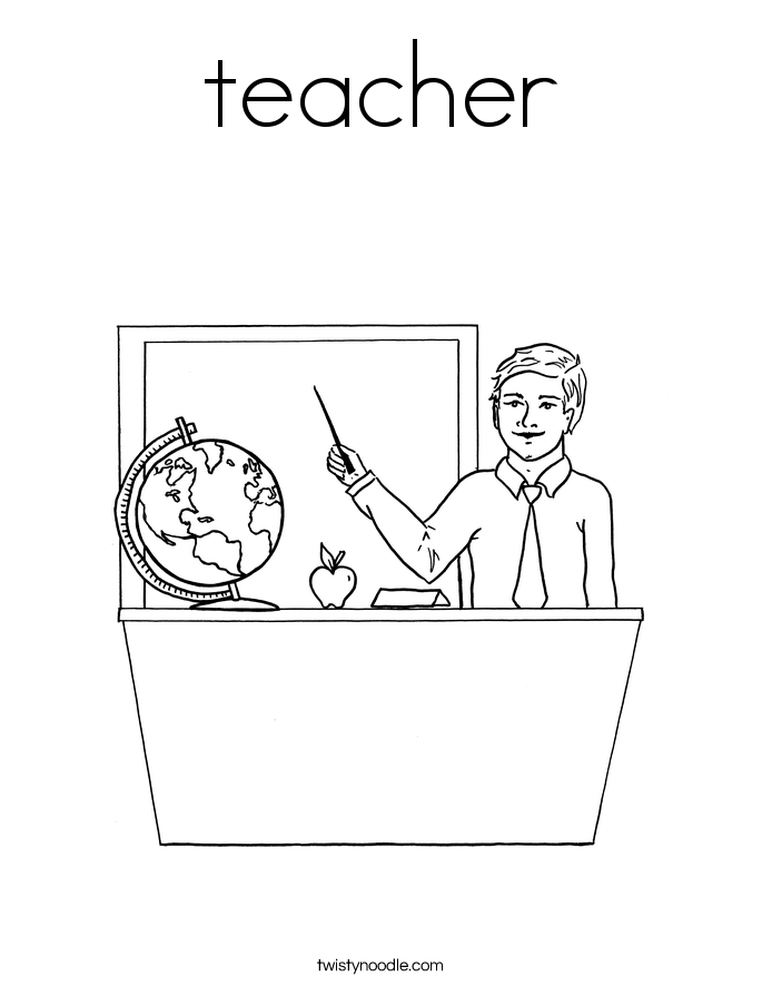 685x886 Teachers Coloring Pages