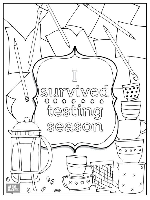 Teacher Coloring Pages Printables
