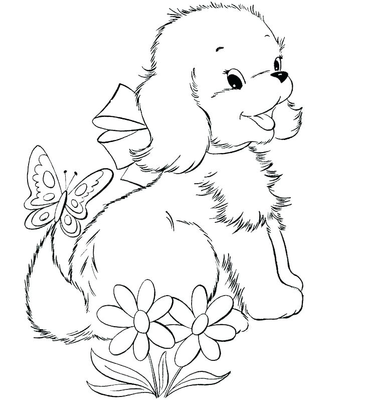 736x797 Doggy Coloring Pages Teacup Coloring Pages To Print Images Free