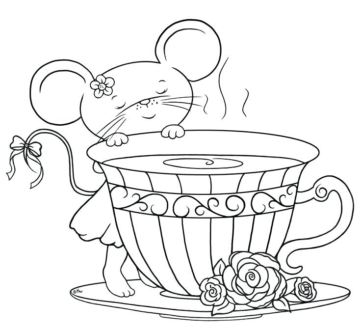 The Best Free Tea Coloring Page Images Download From 454 Free