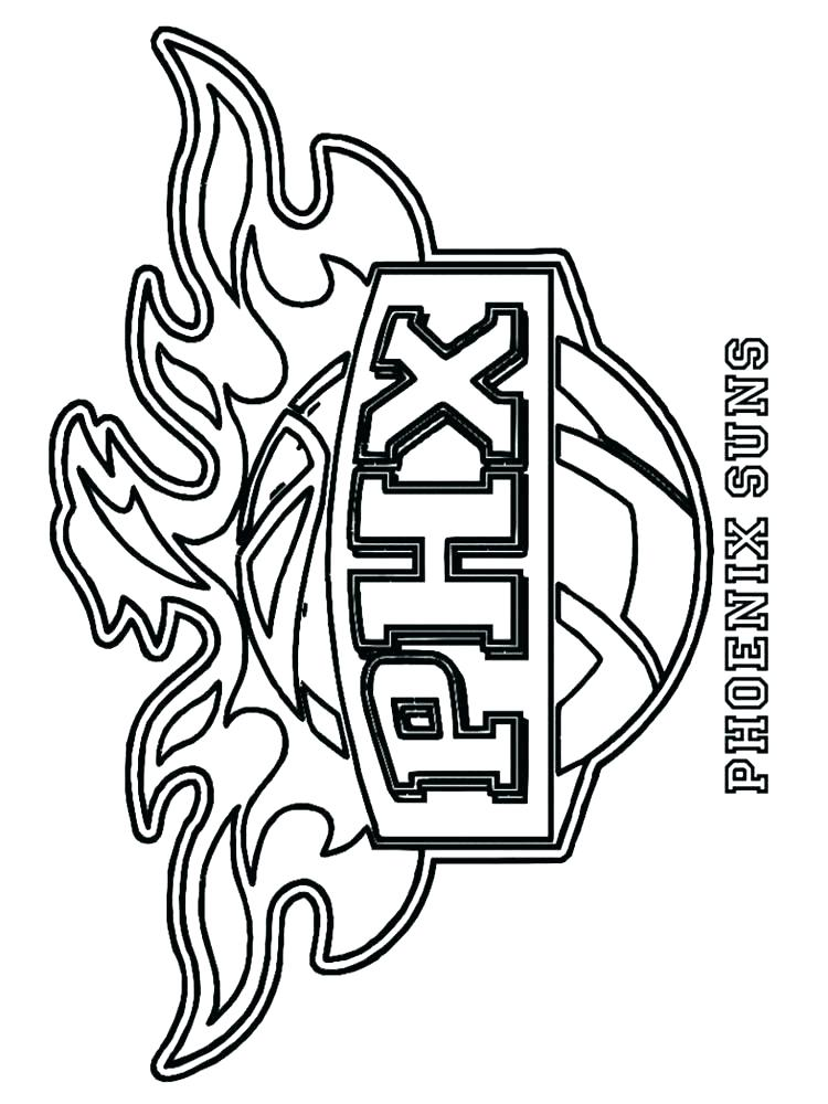 750x1000 Logos Coloring Pages Coloring Pages Basketball Logo Logos Coloring