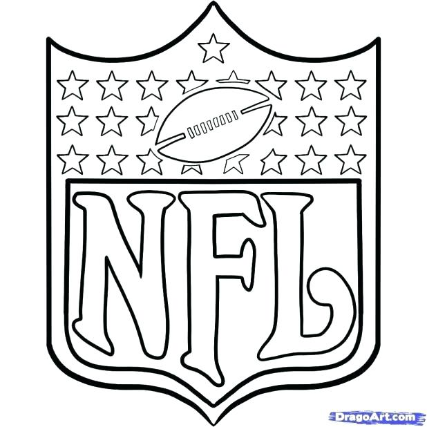 618x618 Nfl Team Logo Coloring Pages Pages Teams Logos Team Coloring Teams