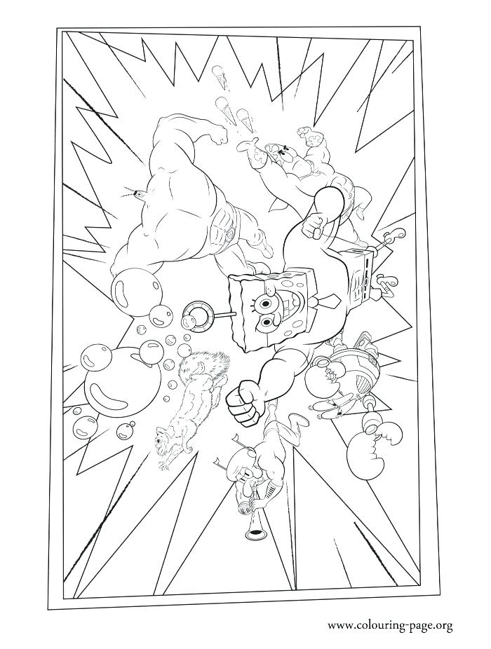 700x926 Free Coloring Pages Spongebob Coloring Page The Team Coloring Page