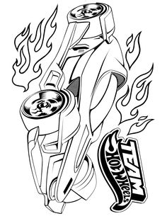 236x305 Hot Wheels Coloring Pages