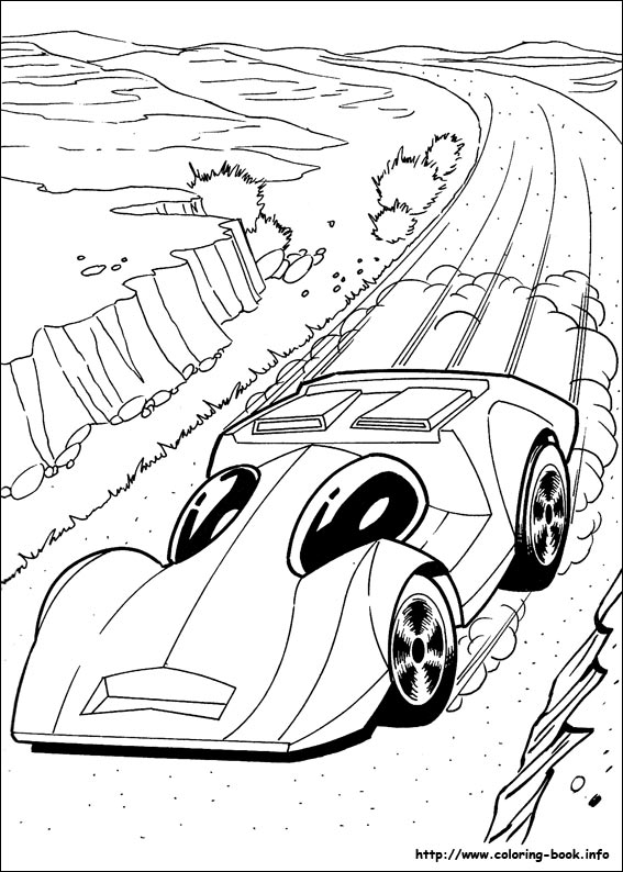 567x794 Hot Wheels Coloring Pages On Coloring