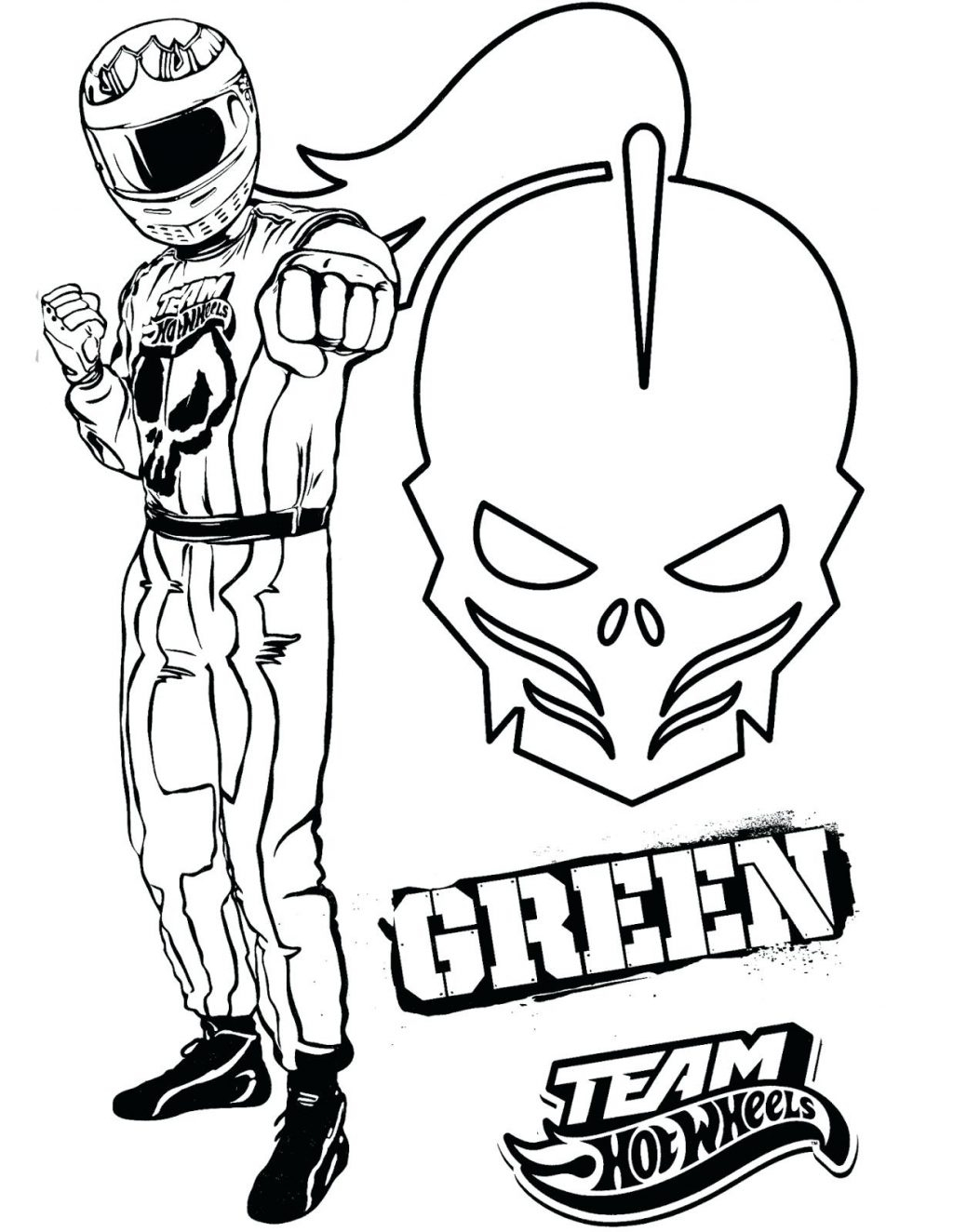 1024x1324 New Coloring Pages Hot Wheels Coloring Pages Team Green A Sheets