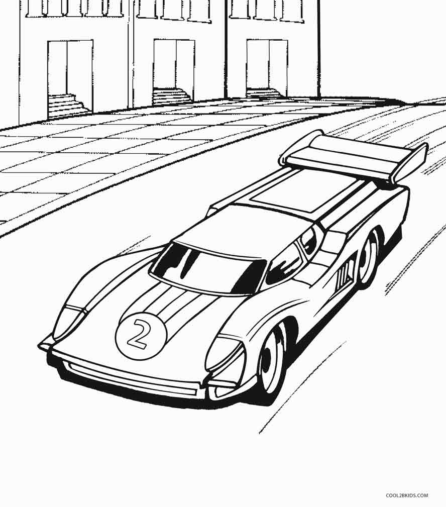 888x1009 Printable Hot Wheels Coloring Pages For Kids