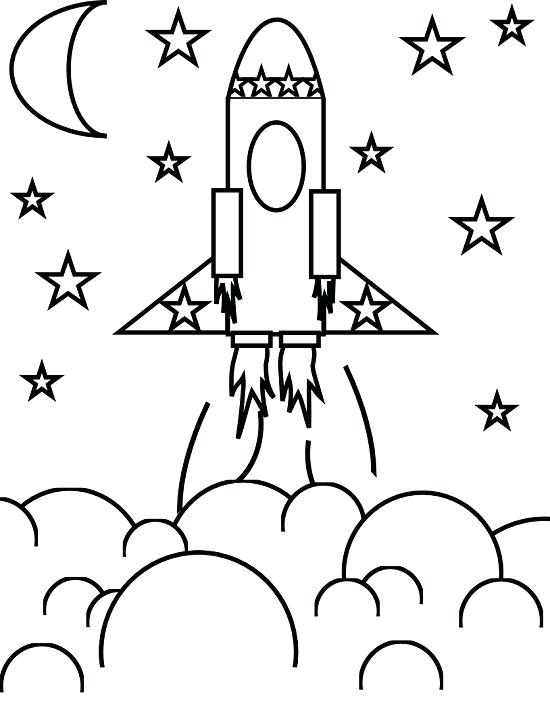 550x702 Rocket Coloring Pages Rocket Ship Coloring Pages Printable Rocket