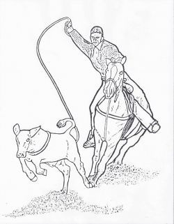250x321 Get My Free Printable Rodeo Coloring Pages Other Event Also Calf