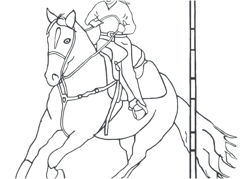 827x609 Outstanding Rodeo Coloring Pages Illustration