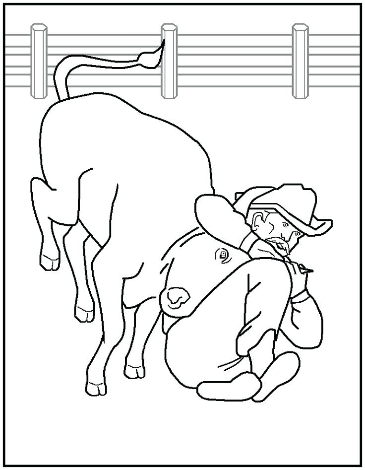 736x947 Rodeo Coloring Pages Team Roping Coloring Pages Photograph Best