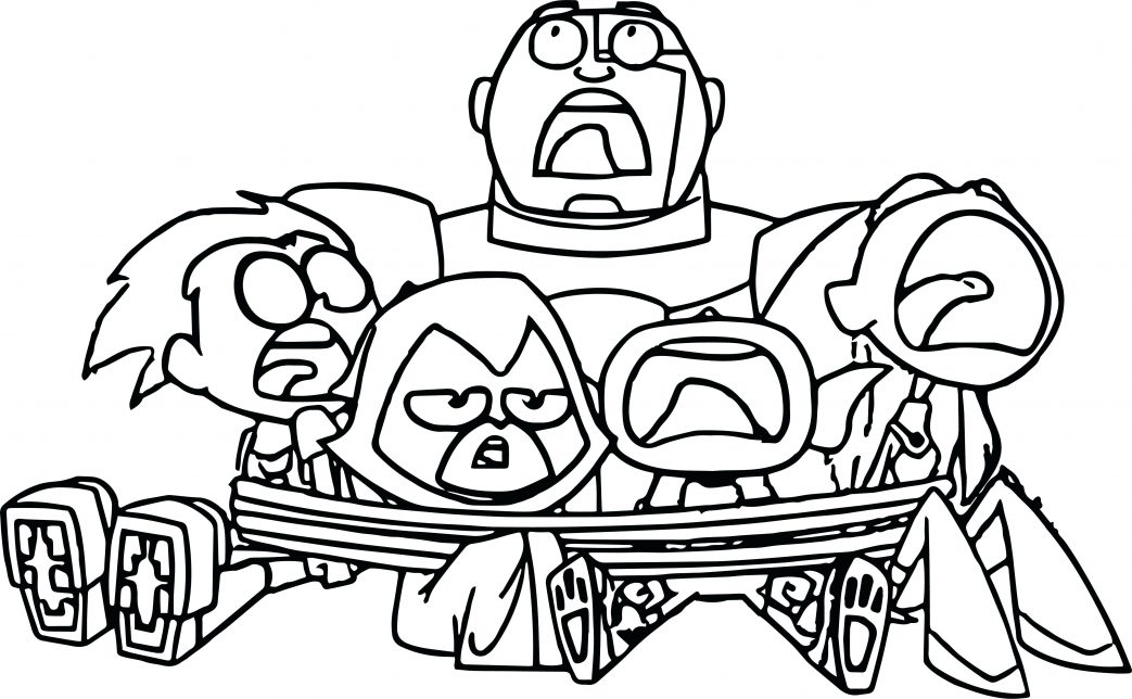 1043x644 Coloring Pages For Adults Animals Teen Titans Go Robin Page Diego