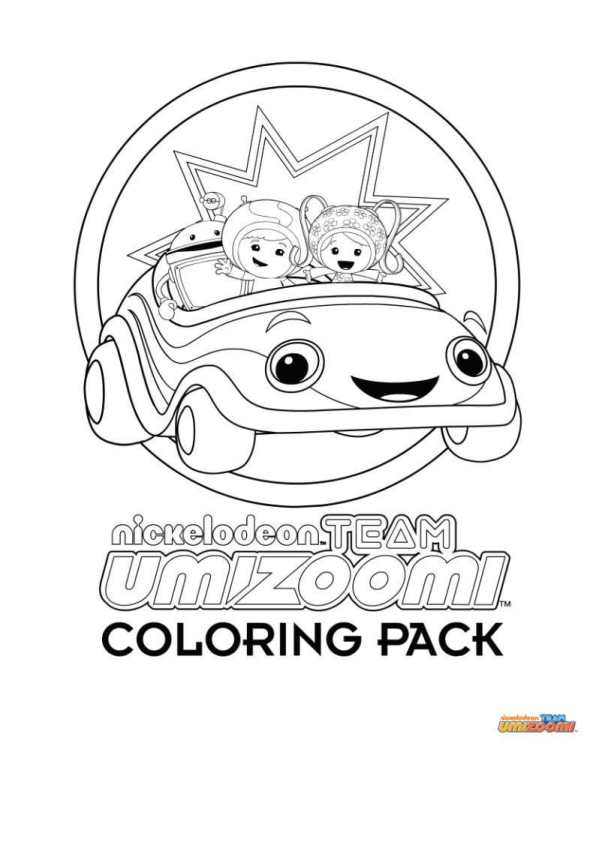 596x842 Kids N Coloring Pages Of Team Umizoomi