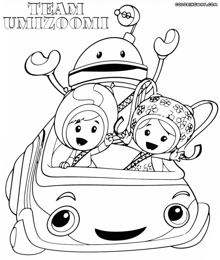 768x905 Nick Jr Printables Team Umizoomi Coloring Pages All Ages Index