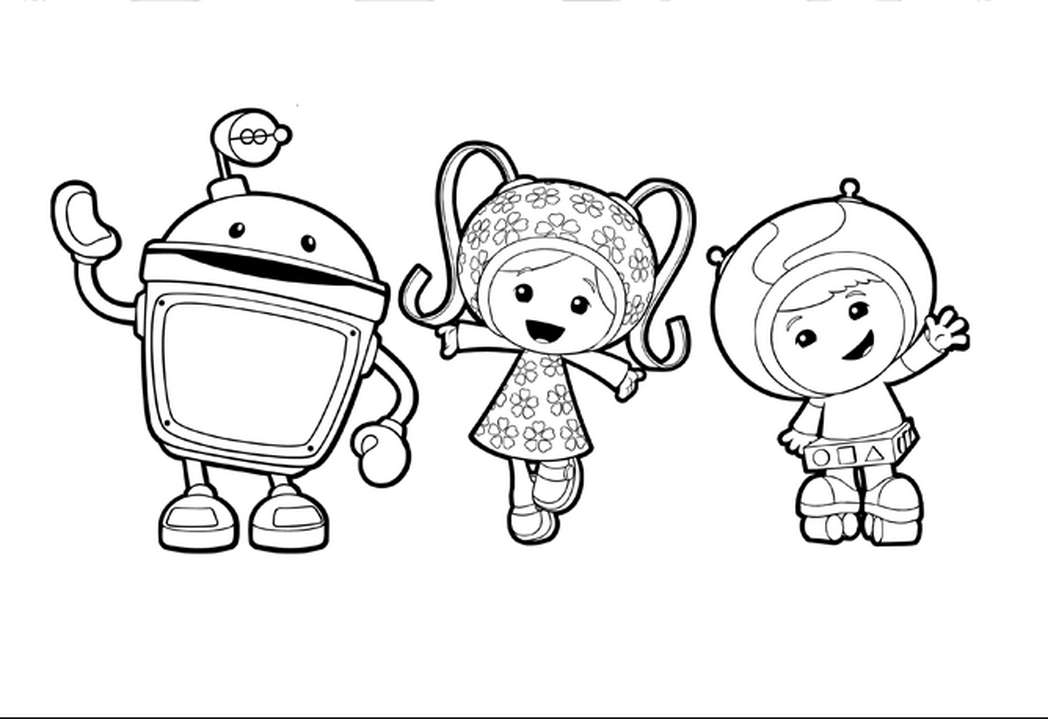 The best free Umizoomi coloring page images. Download from 236 free ...
