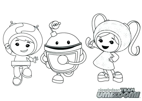 600x428 Team Umizoomi Coloring Pages Printable Printable Coloring Stunning