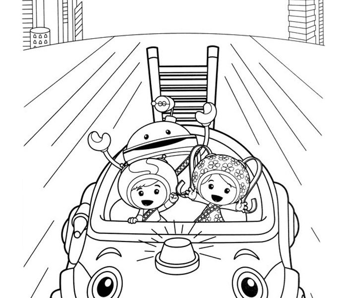 700x600 Team Umizoomi Coloring Pages Umizoomi Coloring Pages Free
