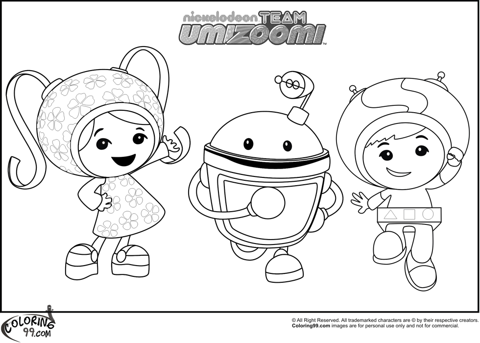 980x700 Team Umizoomi Christmas Coloring Pages Free Coloring Pages Of Umi