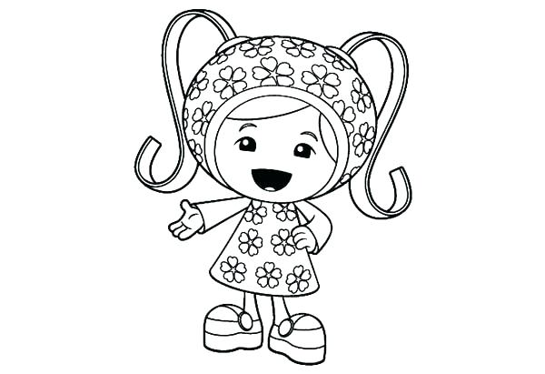 600x411 Umizoomi Coloring Page Coloring Coloring Pages Unique Team