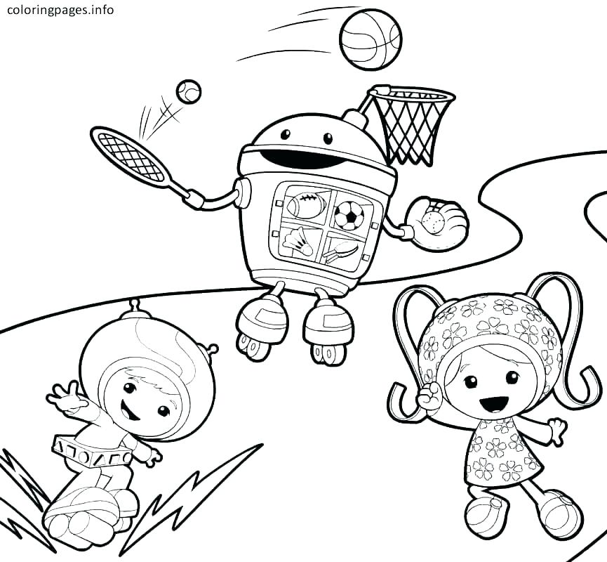 865x800 Umizoomi Coloring Pages Coloring Pages Printable Free Team