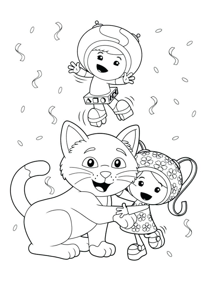 720x1000 Coloring Pages Umizoomi Coloring Pages Team Umizoomi Birthday