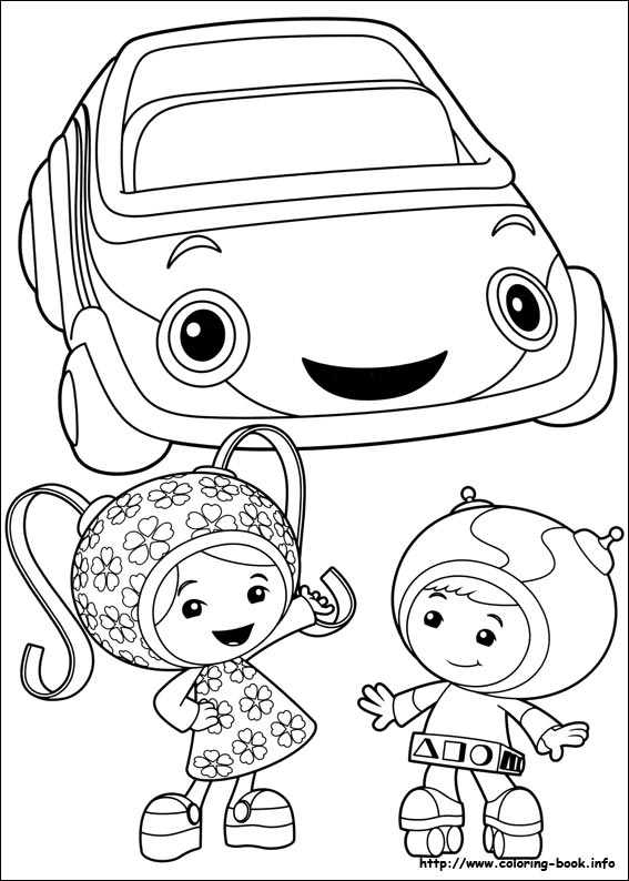 567x794 Coloring Team Umizoomi Coloring Pages Great Team Umizoomi
