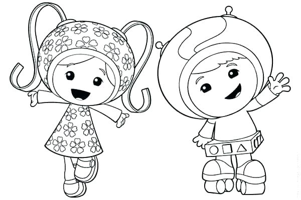 600x400 Umizoomi Coloring Page