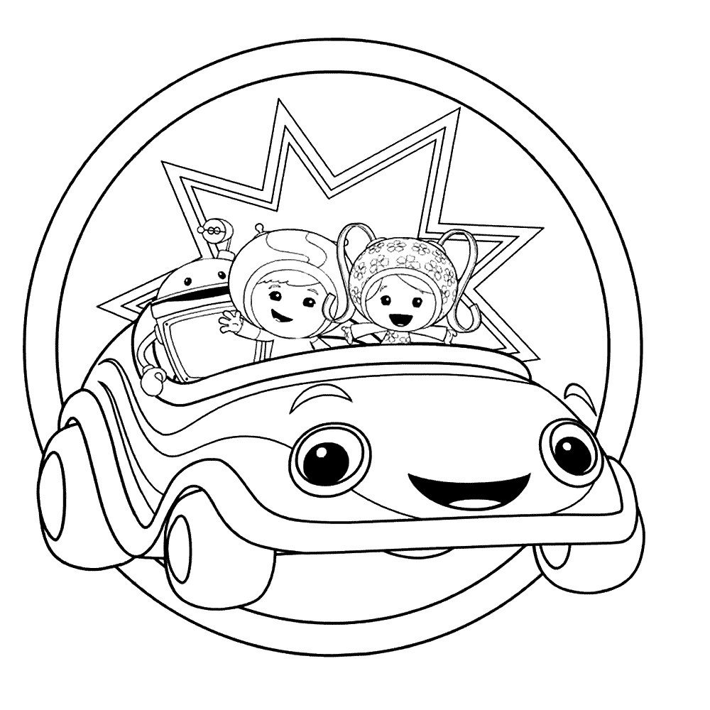 1000x1000 Free Printable Team Umizoomi Coloring Pages For Kids Free