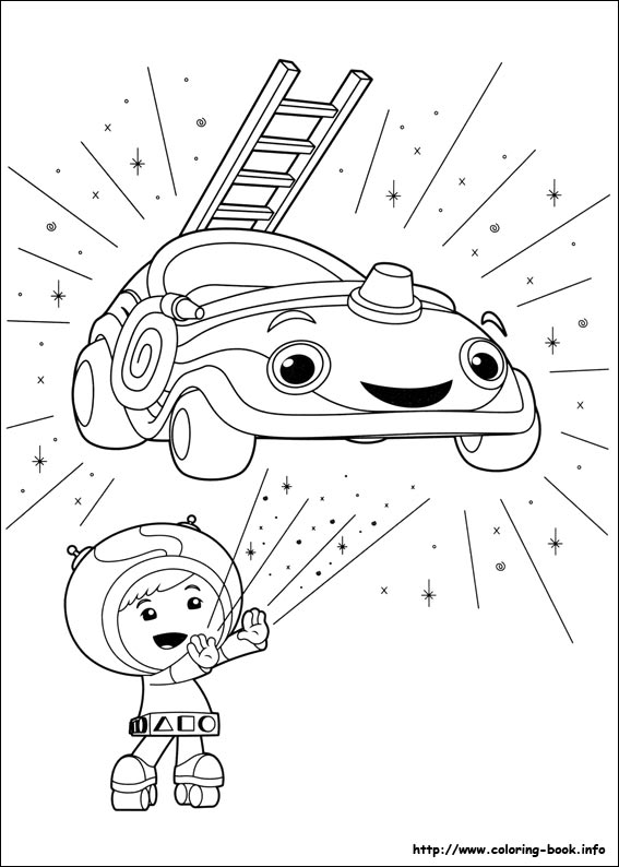 567x794 Team Umizoomi Coloring Pages Free Printable Colouring Book