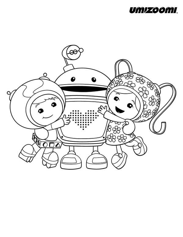 600x776 Team Umizoomi Christmas Coloring Pages Free Team Umizoomi