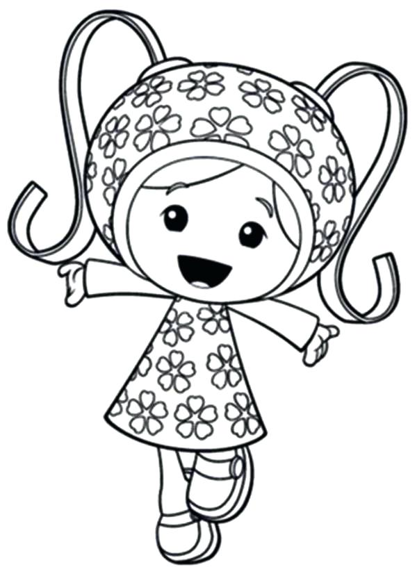 600x829 Umizoomi Coloring Page Team Umizoomi Coloring Pages Free Printable