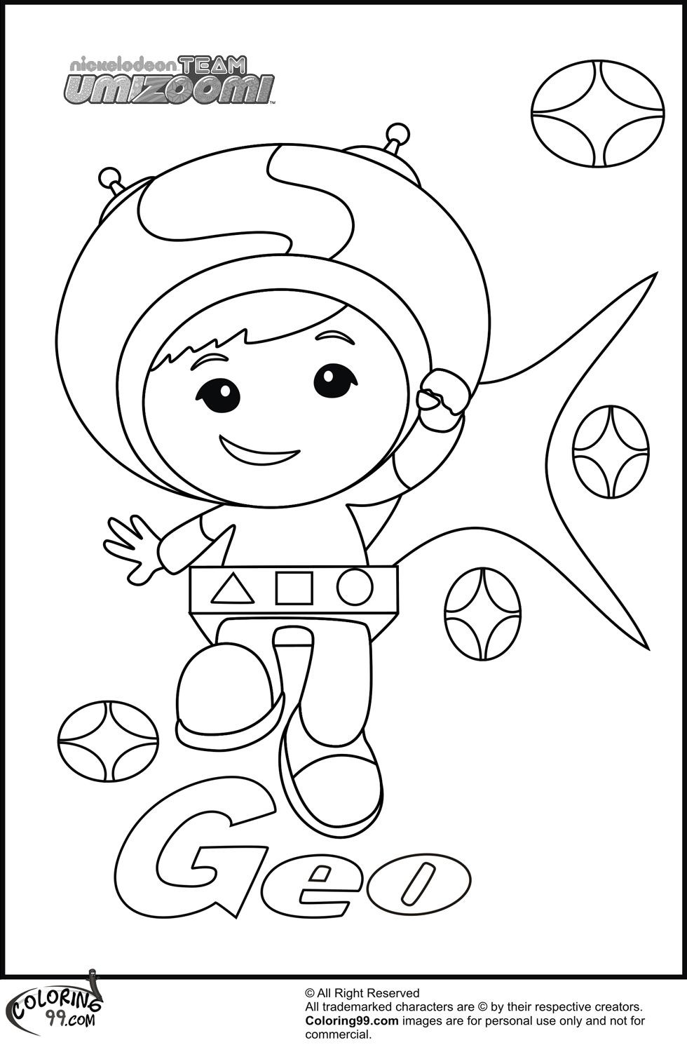 980x1500 Umizoomi Coloring Pages Free Best Of Team Umizoomi Coloring