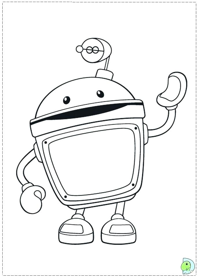 691x960 Umizoomi Coloring Pages Printable Nick Jr Team Coloring Pages All