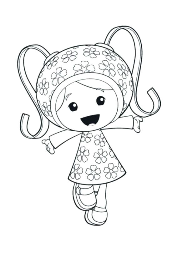 550x825 Umizoomi Coloring Pages Printable Team Coloring Pages Free