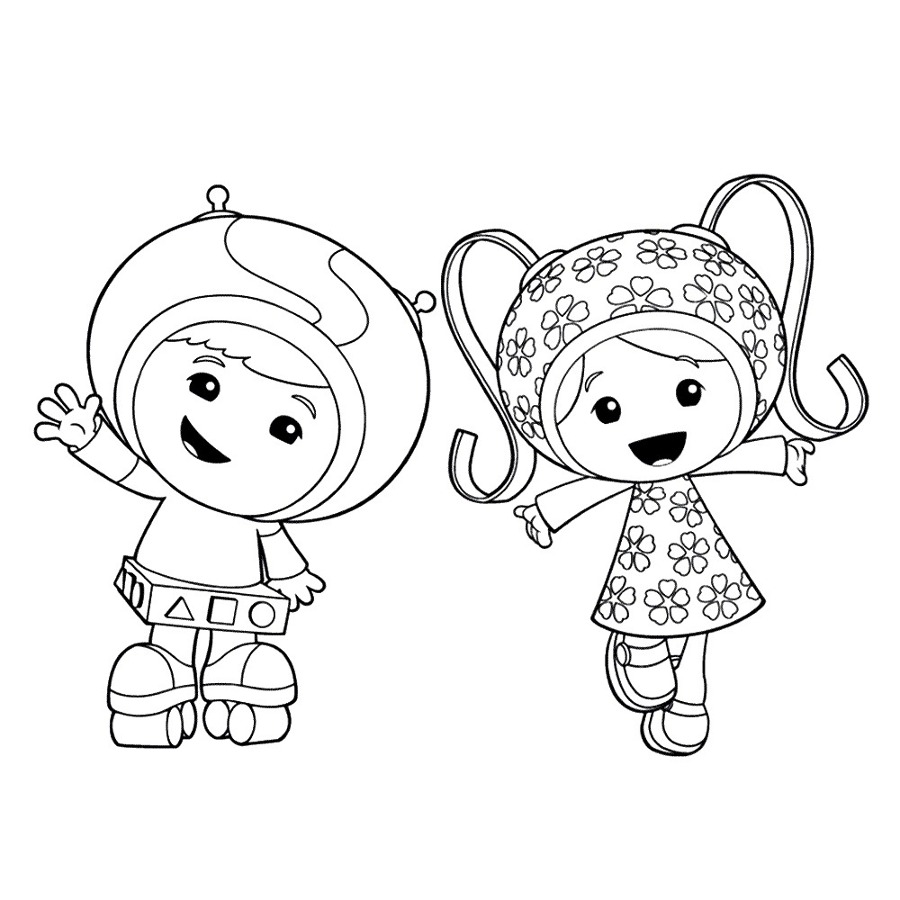 1000x1000 Free Printable Team Umizoomi Coloring Pages For Kids Coloring