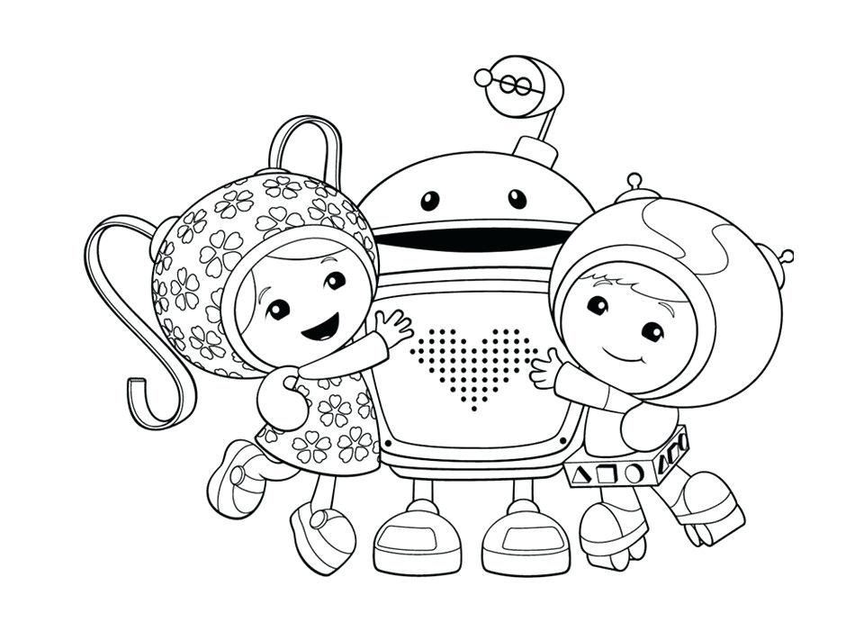 960x691 Team Umizoomi Coloring Book