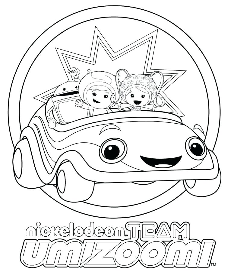 766x900 Umizoomi Coloring Page