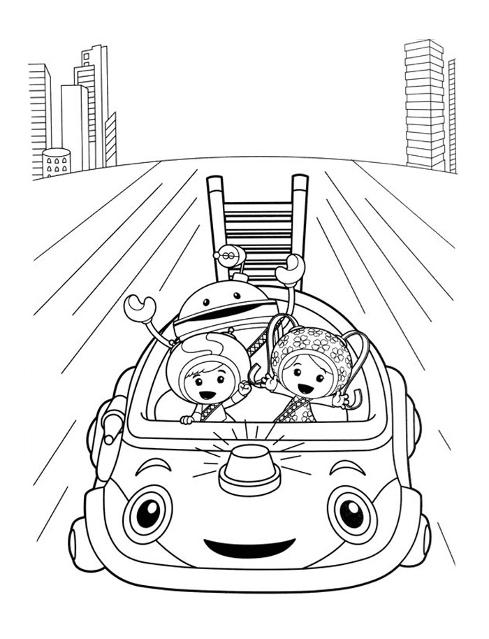 700x914 Umizoomi Coloring Pages Free Printable Team Umizoomi Coloring