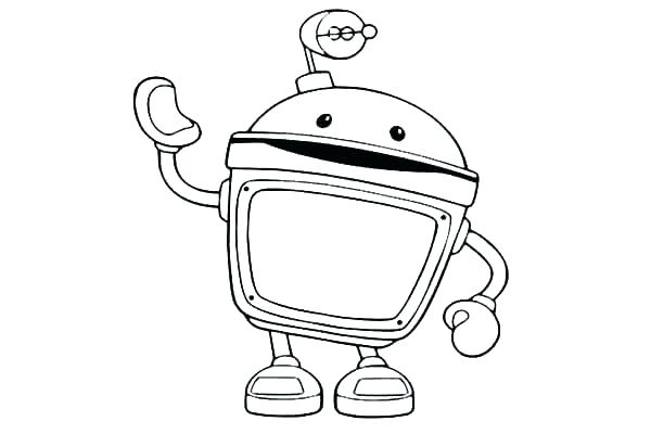 600x400 Umizoomi Coloring Pages Printable