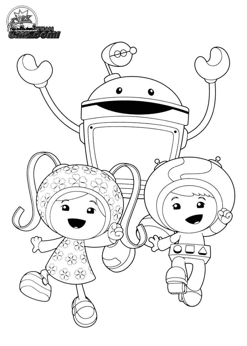 800x1120 Free Team Umizoomi Coloring Pages Printable Beauteous Page